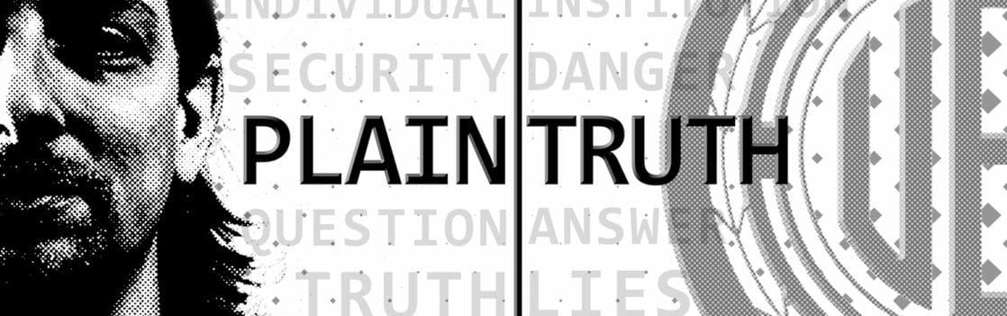 Plain Truth: Dillo al Tuo Senatore