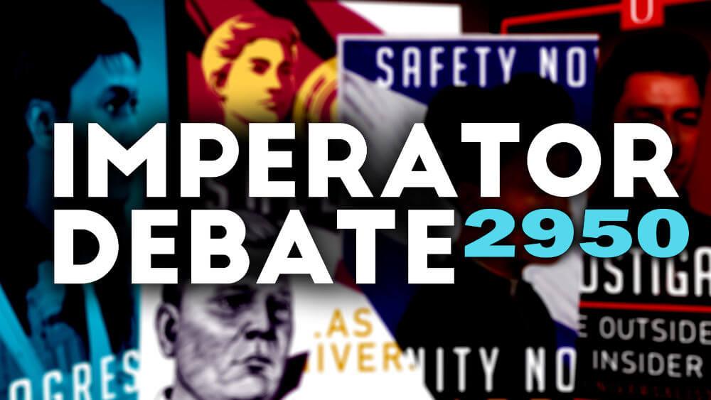 New United: Dibattito del 2950 tra i Candidati al Ruolo di Imperatore